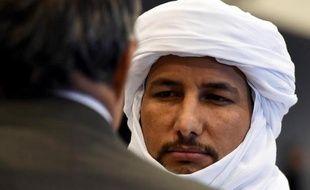 Bilal Acherif, Secrétaire général du Mouvement national de libération de l'Azawad (MNLA), le 1er mars 2015 à Alger