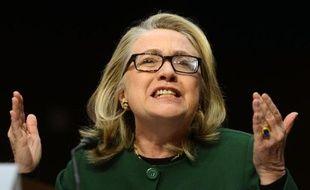 L'ex-première dame et ex-secrétaire d'Etat américaine Hillary Clinton, le 11 septembre 2012 à Washington
