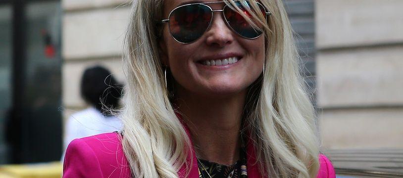 Laeticia Hallyday, le 16 octobre 2018, à Paris.