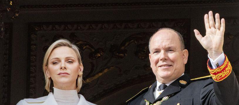 La princesse et le prince de Monaco