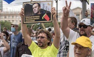 Une manifestation pour Alexei Navalny