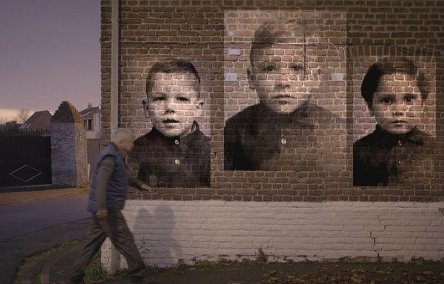 Patrick Hary et ses frères, dans les rues de Vieux-Condé, dans le Nord (extrait du documentaire «Grève des mineurs de 1963, merci papa!».