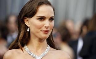 Natalie Portman à la 87e cérémonie des Oscars à Los Angeles, le 26 février 2012.