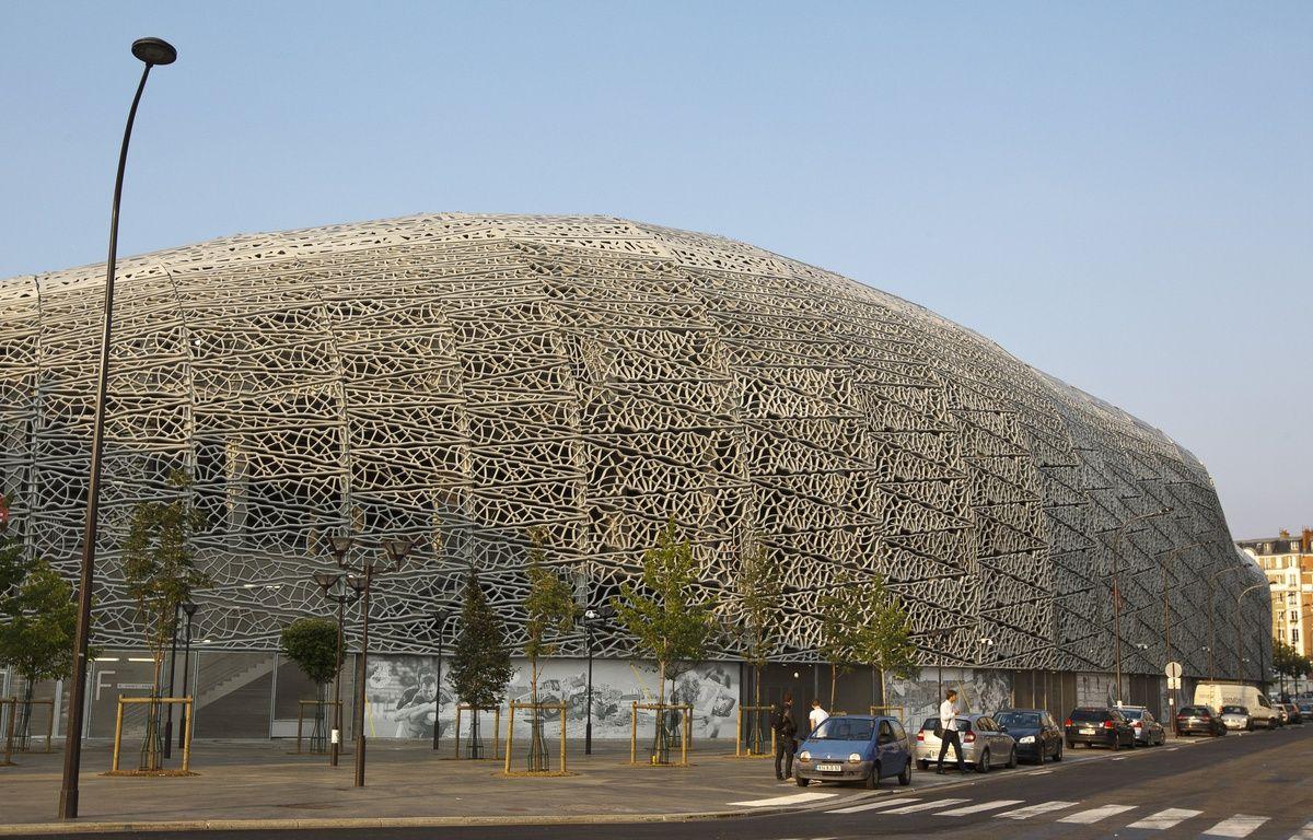 Paris le 28 aout 2013. Presentation et visite du Stade Jean Bouin qui abritera les installations sportives du club de rugby du Stade Francais. – A. Gelebart / 20 Minutes