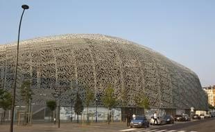 Paris le 28 aout 2013. Presentation et visite du Stade Jean Bouin qui abritera les installations sportives du club de rugby du Stade Francais.