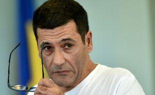 Gilbert Chikli après son arrestation en Ukraine, en 2017