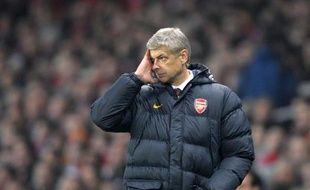 Le coach français d'Arsenal, Arsène Wenger, le 5 novembre 2008 à Londres.