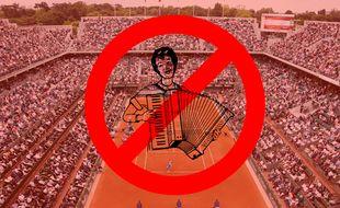 """Il est interdit de """"faire usage d'instruments de musique"""". Donc le Popopopopo...olé à l'accordéon, c'est non."""