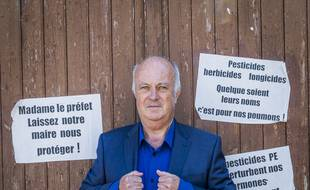 Daniel Cueff, Maire de Langouët (Ille-et-Vilaine)