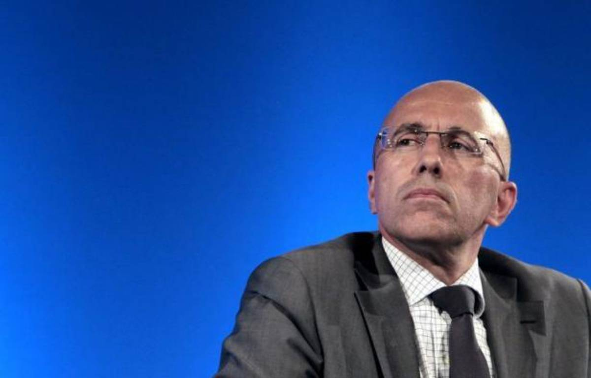 """Eric Ciotti, secrétaire national de l'UMP à la sécurité, interrogé jeudi sur les violences à Amiens, a demandé quelle était la """"ligne du gouvernement"""", opposant les messages """"de fermeté"""" du ministre de l'Intérieur et ceux """"d'impunité"""" de la garde des Sceaux. – Sebastien Nogier afp.com"""