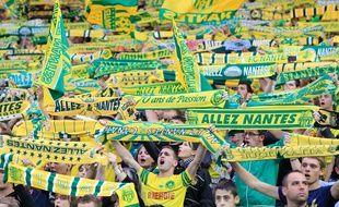 Les supporters du FC Nantes lors du match FCN-PSG