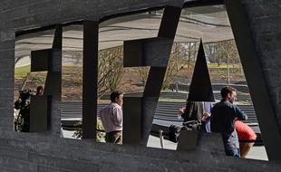 Le siège de la Fifa à Zurich, le 30 mars 2015.