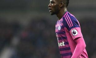 Papy Djilobodji sous le maillot de Sunderland en 2017.