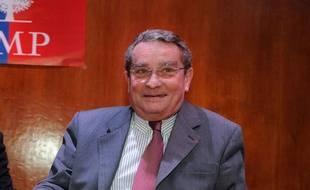 François Lebel, maire sortant du 8e arrondissement de Paris François Lebel, le 8 novembre 2012.