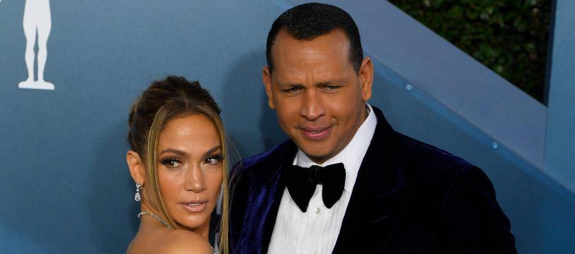 L'actrice et chanteuse Jennifer Lopez et l'ancien joueur de baseball Alex Rodriguez