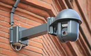Installation cameras video surveillance place wilson par la Mairie de Toulouse. Zone de surveillance video.