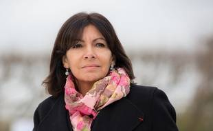 Anne Hidalgo à Paris le 2 décembre 2015.