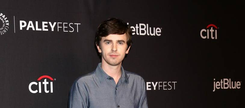 Freddie Highmore, l'acteur principal de la série The Good Doctor
