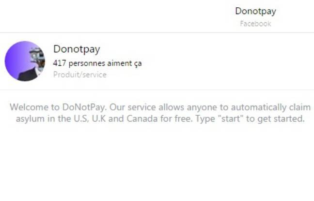 DoNotPay, le premier avocat robot au monde pour les réfugiés