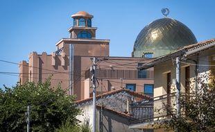 La grande mosquée de Toulouse, dans le quartier d'Empalot.