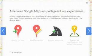 Google a lancé mardi 20 mars Map Maker en France.
