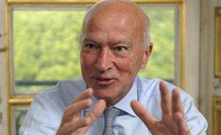 Thierry Saussez, directeur du Service d'information du gouvernement (SIG), le 21 avril 2009.