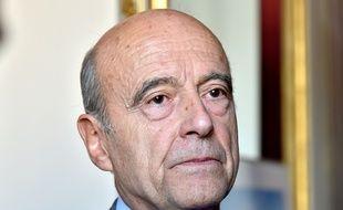 Le maire des Bordeaux a évoqué la question de l'accueil des migrants lors du conseil municipal du 26 septembre. / AFP PHOTO / GEORGES GOBET
