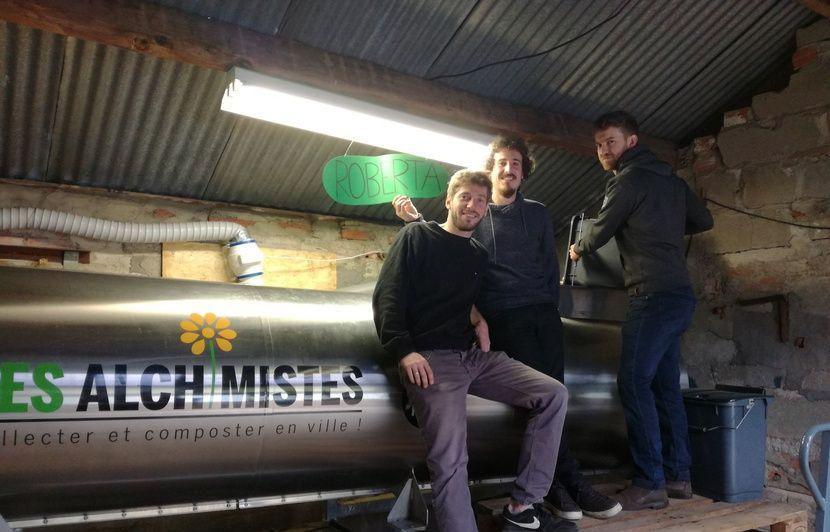 VIDEO. Toulouse : Grâce à « Roberta », ils produisent en moins de deux du compost 100 % local