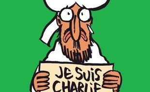 La Une de Charlie Hebdo pour son prochain numéro du mercredi 13 janvier 2015.