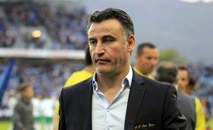 L'entraîneur de l'ASSE a très mal vécu le faux pas samedi de son équipe en Corse (1-0). La Ligue des champions pourrait s'éloigner ce dimanche. PASCAL POCHARD-CASABIANCA