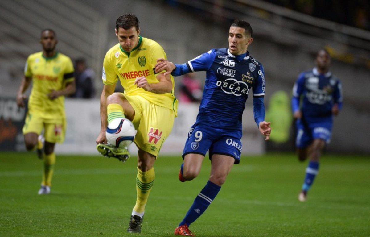 Nantes et Bastia avaient fait 0-0 à l'aller. – JEAN-SEBASTIEN EVRARD / AFP