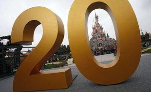 Disneyland Paris a lancé officiellement les festivités pour son 20e anniversaire le 31 mars 2012.