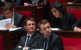 Le Premier Ministre, Manuel Valls , le ministre de l'Economie, Emmanuel Macron et la ministre du Travail, Myriam El Khomri, seront en visite dans le Haut-Rhin lundi. (Photo d'archives)