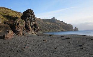 L'île de la Possession (archipel de Crozet) photographiée en 2012.