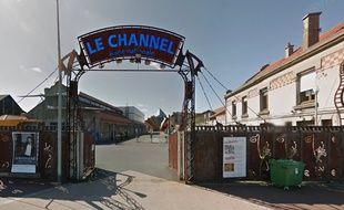 L'entrée de la scène nationale, Le Channel, à Calais.