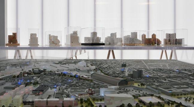 Bordeaux euratlantique deux grands immeubles en ossature for Projet maison neuf
