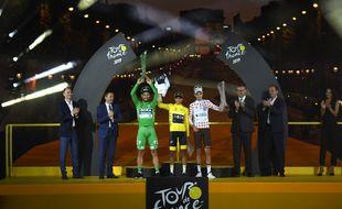 Egan Bernal, grand vainqueur de l'édition 2019 du Tour de France.