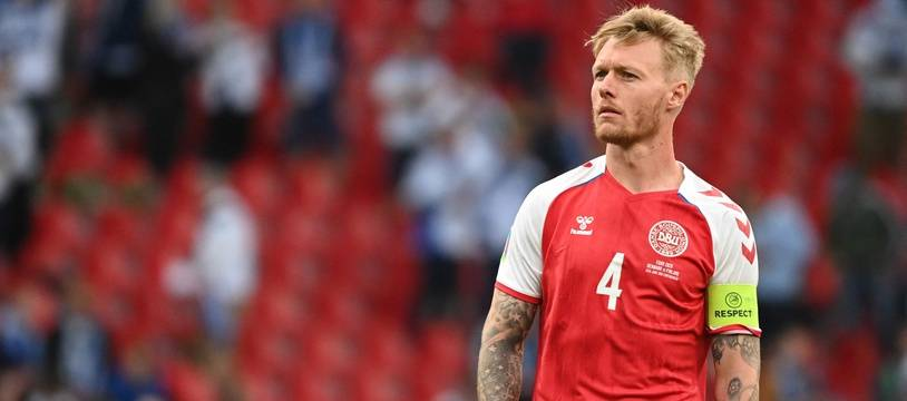 Simon Kjaer, le capitaine du Danemark, a joué un rôle important après le malaise de son coéquipier et ami Christian Eriksen.
