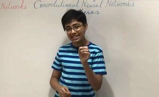 Tanmay bakshi, petit génie de l'informatique, collabore avec IBM à seulement 13 ans.