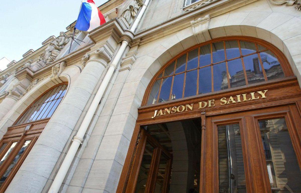 Le lycée Janson-de-Sailly à Paris. – JEAN-PIERRE MULLER / AFP