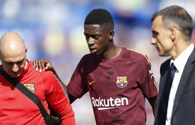 Barça: Pour le «Dr House» du sport, Dembélé a peut-être caché sa blessure sous la pression de son transfert