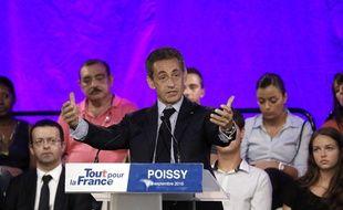 Nicolas Sarkozy était à Poissy le 6 septembre 2016