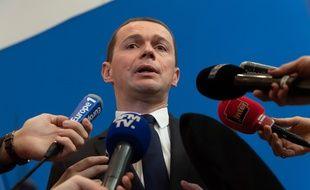 Olivier Dussopt, secrétaire d'Etat, a présenté le projet de loi de transformation de la fonction publique le 14 février 2019.
