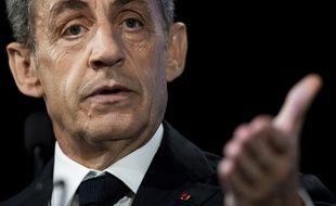 Nicolas Sarkozy, le 21 juin 2019 à Paris.