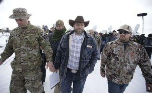 Le militant américain anti-gouvernement Ammon Bundy, le 3 janvier dans l'Oregon.