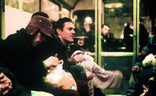 """Gérald Thomassin dans une scène du film """"Paria"""", réalisé par Nicolas Klotz."""