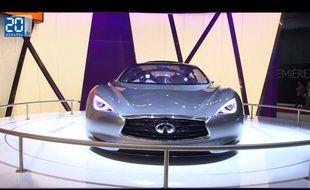 Infiniti Emerg-E concept au Mondial de l'automobile 2012 de Paris
