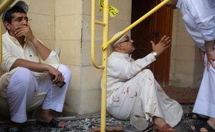 Un attentat à la bombe à eu lieu dans la mosquée Al-Imam al-Sadeq, le 26 juin 2015.