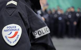 Illustration: Un policier, police française.