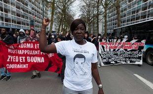 En mars 2017, les proches de Babacar Gueye avaient manifesté à Rennes contre les violences policières.